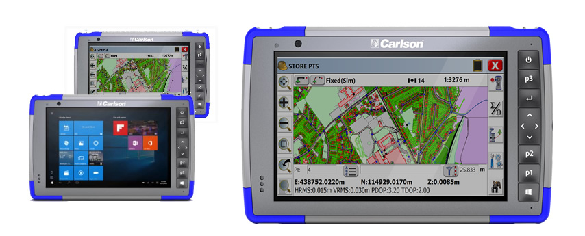 Carlson RT3 Ruggedized Tablet