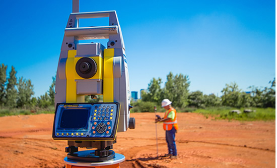 Carlson CR+ Total Station Survey Tool