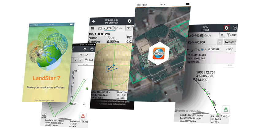 Landstar 7 Surveying and Mapping with Enhanced Graphical Tools